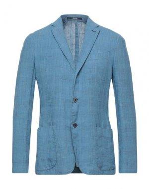 Пиджак DRUMOHR. Цвет: небесно-голубой