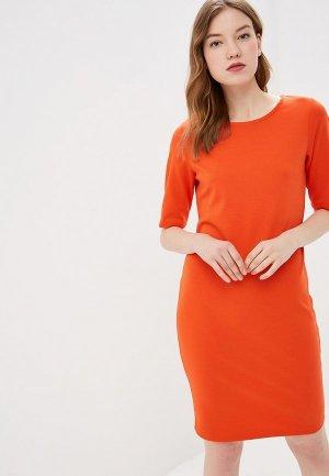 Платье b.young. Цвет: красный