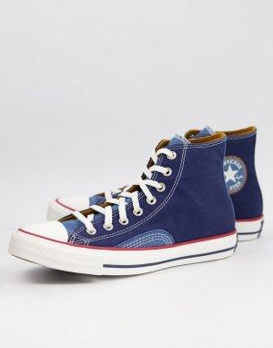 Кеды из денима Chuck Taylor-Голубой Converse