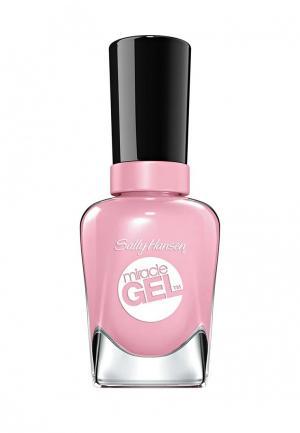 Гель-лак для ногтей Sally Hansen Miracle Gel, 160 Pinky Promise, 14 мл. Цвет: розовый
