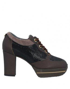 Обувь на шнурках GUIDO SGARIGLIA. Цвет: какао