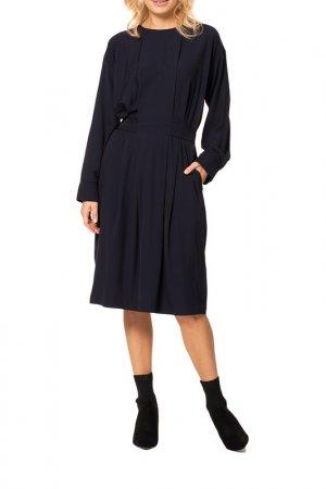 Платье Kata Binska. Цвет: темно-синий