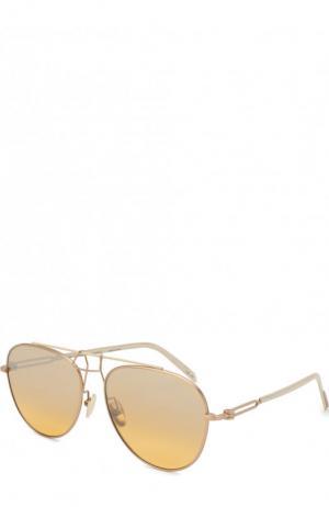 Солнцезащитные очки CALVIN KLEIN 205W39NYC. Цвет: золотой