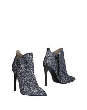 Полусапоги и высокие ботинки GIANCARLO PAOLI. Цвет: серый