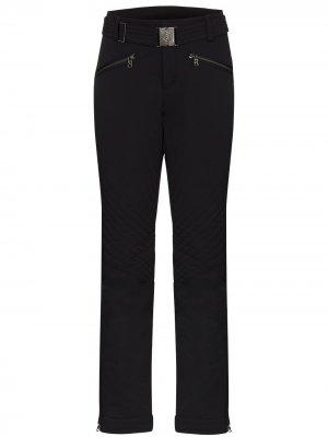 Лыжные брюки Fraenzi прямого кроя Bogner. Цвет: черный