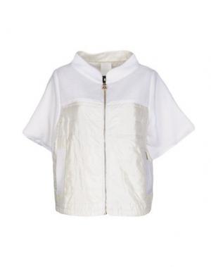 Куртка BARK. Цвет: белый