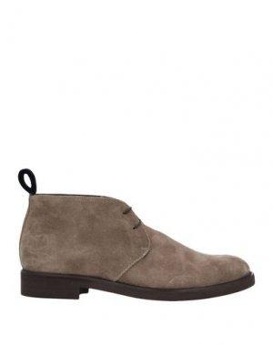 Полусапоги и высокие ботинки ARFANGO. Цвет: голубиный серый
