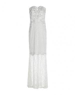 Длинное платье LIPSY. Цвет: серебристый