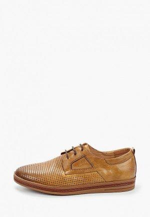 Туфли Franco Bellucci. Цвет: коричневый