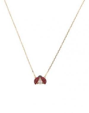 Ожерелье SWAROVSKI. Цвет: золотистый
