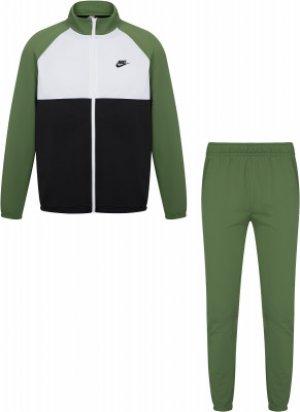 Костюм мужской Sportswear, размер 46-48 Nike. Цвет: зеленый