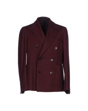 Пиджак CANTARELLI JERSEY PLANET. Цвет: красно-коричневый