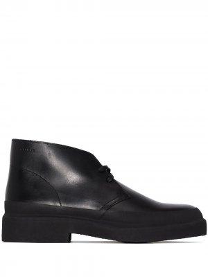 Ботинки дезерты Galosh Clarks Originals. Цвет: черный