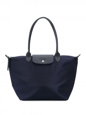 Сумка-шопер Le Pliage Longchamp. Цвет: синий