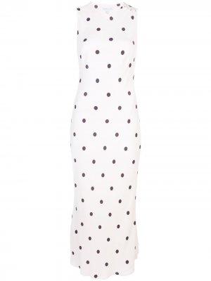 Платье миди Shelby Shona Joy. Цвет: нейтральные цвета