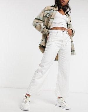 Белые широкие джинсы -Синий Cotton:On