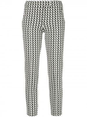 Укороченные фактурные брюки Frankie Akris Punto