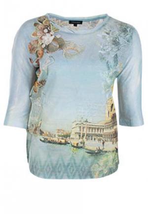 Блуза LEO GUY. Цвет: разноцветный