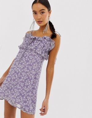 Платье на бретельках с цветочным принтом Emory Park