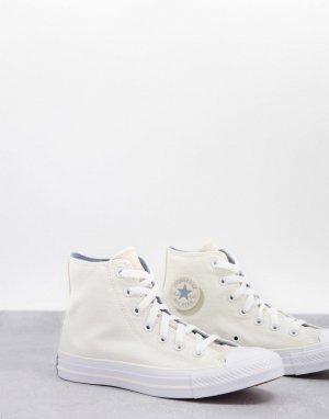 Кроссовки кремового цвета Chuck Taylor-Белый Converse