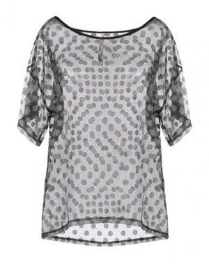 Блузка EMMA & GAIA. Цвет: серый