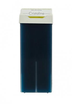 Воск для депиляции Cristaline азуленовый в картридже, 100 мл