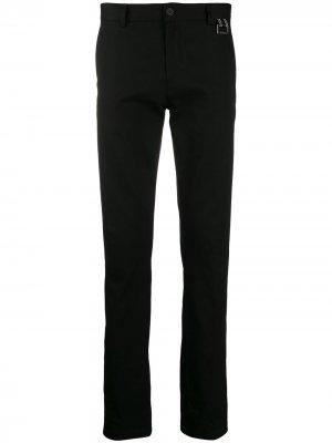 Классические брюки чинос кроя слим Givenchy. Цвет: черный