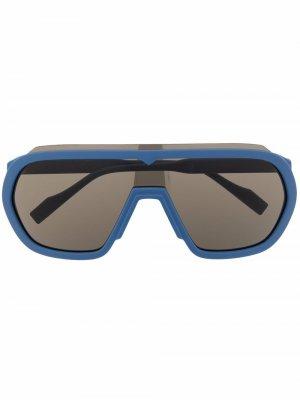 Солнцезащитные очки KZ40125I Kenzo. Цвет: синий