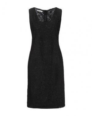 Короткое платье BOTONDI COUTURE. Цвет: черный