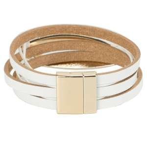 Браслет Ekonika EN40001-white-gold-21L