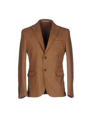 Пиджак EXIBIT. Цвет: верблюжий