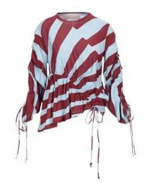 Блузка ANTONIO BERARDI. Цвет: лазурный