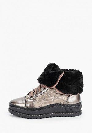 Ботинки King Boots. Цвет: золотой
