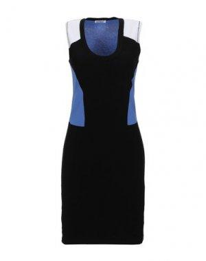 Короткое платье BIKKEMBERGS. Цвет: черный