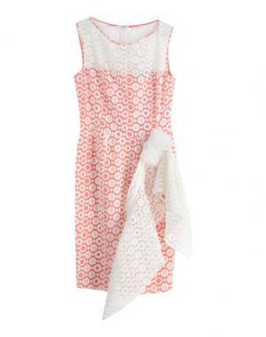 Короткое платье X'S MILANO. Цвет: розовый