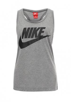 Майка Nike Womens Sportswear Essential Tank. Цвет: серый