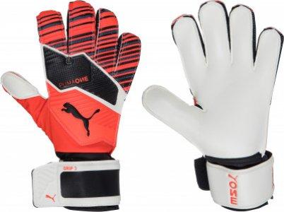 Перчатки вратарские Puma ONE GRIP 3 RC, размер 10. Цвет: красный