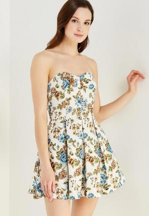 Платье Irina Vladi MP002XW0QS1K. Цвет: белый