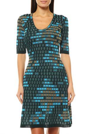 Платье M Missoni. Цвет: голубой