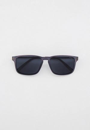 Очки солнцезащитные Invu с поляризационными линзами. Цвет: синий
