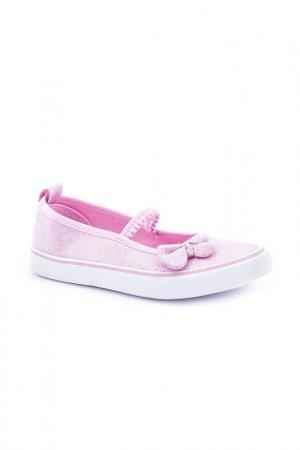 Туфли спортивные Coccodrillo. Цвет: розовый