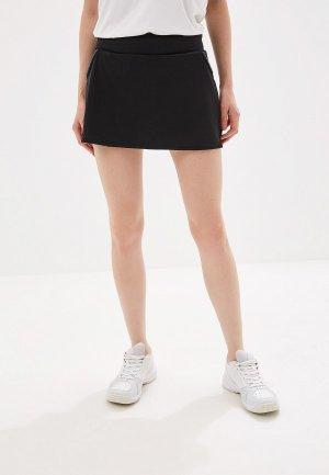 Юбка-шорты adidas CLUB SKIRT. Цвет: черный