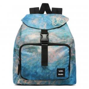 Рюкзак Vans X MoMA Monet. Цвет: синий