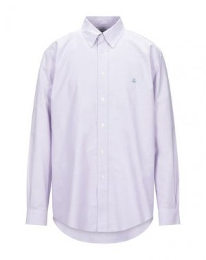 Pубашка BROOKS BROTHERS. Цвет: сиреневый