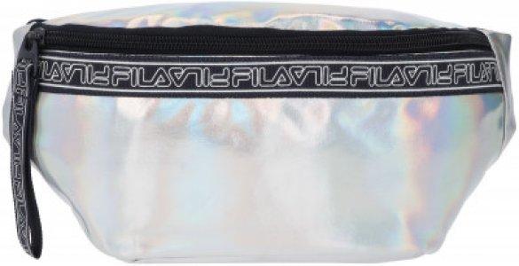 Сумка на пояс для девочек FILA. Цвет: разноцветный