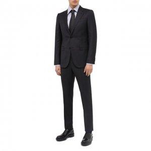 Шерстяной костюм Ermenegildo Zegna. Цвет: серый