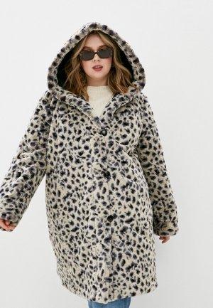 Куртка утепленная Dixi-Coat. Цвет: разноцветный