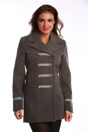 Пальто Ines Collezione. Цвет: серый