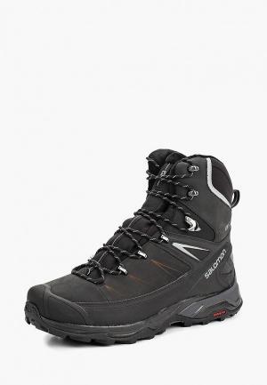 Ботинки трекинговые Salomon X ULTRA WINTER CS WP 2. Цвет: черный