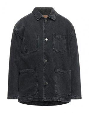 Джинсовая верхняя одежда AMERICAN VINTAGE. Цвет: черный